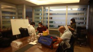 Çalışanlarımıza Covid-19 Testi Yaptık…